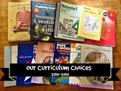 Our Curriculum Choices for 2014-2015