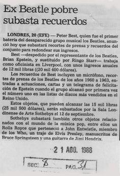 Publicado el 21 de agosto de 1988.