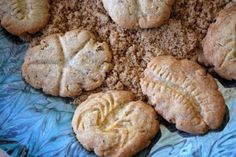 Fossil Cookies - Snicker doodles - sugar and cinnamon looks like sand on your…