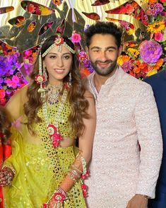 Check out all the fun-filled pictures from Anissa and Armaan's mehendi ceremony. Bollywood Couples, Bollywood Celebrities, Indian Wedding Couple, Wedding Couples, Sister Of The Groom, Mehendi Outfits, Haldi Ceremony, Wedding Of The Year, Wedding Function