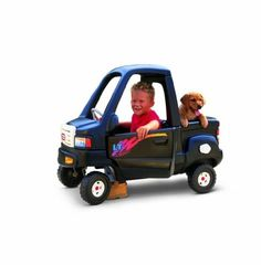 """Little Tikes Black Pick Up Truck by Little Tikes. $151.99. From the Manufacturer                This roomy one passenger truck is the perfect ride for har-working kids. Large flatbed with a drop down tailgate. Rugged """"off road"""" wheels an opening gas cap and a steering with working horn.                                    Product Description                This roomy one passenger truck is the perfect ride for har-working kids. Large flatbed with a drop down tailgate. R..."""