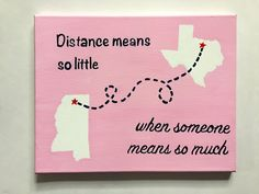 Sweet Serendipity: Long Distance Relationship Painting