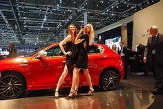 Ginevra Motor Show - Girls Girls e Alfa Romeo MiTo MultiAir 16V Quadrifoglio Verde