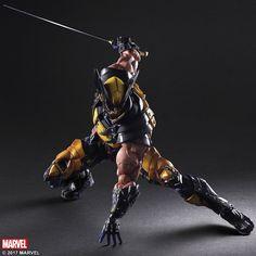 Marvel Universe Variant Play Arts Kai Wolverine - The Toyark - News Marvel Wolverine, Logan Wolverine, Marvel X, Anime Toys, Cultura Pop, X Men, Marvel Universe, Action Figures, Fantasy Figures