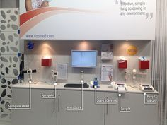 Range of COSMED portable spirometers and hand-held lung function monitors shown during Medica Trade Fair 2012 by cosmednews, via Flickr