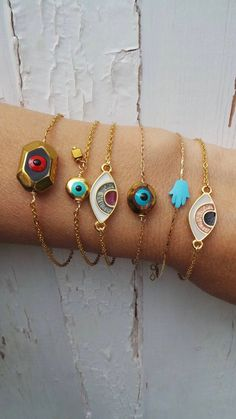 Women's Bracelets – Fine Sea Glass Jewelry Jewelry Wall, Nail Jewelry, Evil Eye Jewelry, Evil Eye Bracelet, Sea Glass Jewelry, Clay Jewelry, Crystal Jewelry, Silver Jewelry, Jewelry Accessories