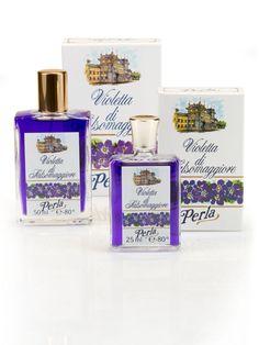 Fragranza alla Violetta di Salsomaggiore: In questo profumo Perla tutta l'intensità della fragranza della Viola Odorosa. Lo trovi nel nostro shop nei formati da 30 ml e 50 ml!