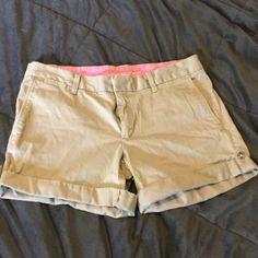 SALE! New Listing! BR Khaki Shorts. Gently worn BR Khaki Stretch Shorts. Banana Republic Shorts