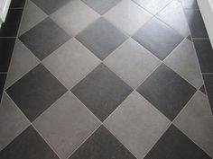 Checkerboard Floor With Glazed Porcelain Tile The Garage Journal Board