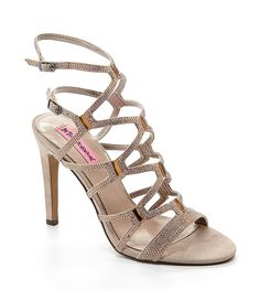 Betsey Johnson Ritzyy Dress Sandals | Dillards.com