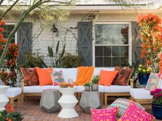 12 Ways to Optimize Your Outdoor Living Spaces from HGTV Spring House 2017 >> http://www.hgtv.com/design/outdoor-design/outdoor-spaces/optimize-your-outdoor-living-space-pictures?soc=pinterest