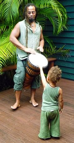 Kids love hand drums... pure entertainment watching them at hand drum circles...