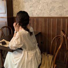 Korean Aesthetic, Beige Aesthetic, Aesthetic Girl, Japanese Aesthetic, Wedding Dress Clothes, Japon Illustration, Ulzzang Korean Girl, Uzzlang Girl, Pretty Photos