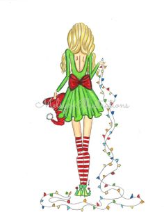 CUTE CHRISTMAS GIFTS!  Santa's Little Helper by Melsys on Etsy