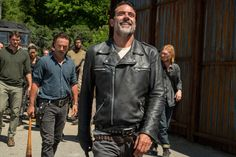 Most of us worry about angering our coworkers. Not Jeffrey Dean Morgan. In fact, he only knows he's doing a good job playing Negan on The Walking Dead when he pisses them off. And the person he loves pissing off the most is none other than Andrew Lincoln.