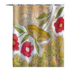 Cori Dantini Sweet Meadow Bird Shower Curtain
