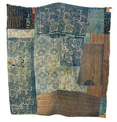 Vintage Japanese quilt. Lovely!