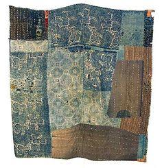 Vintage Japanese quilt. Lovely!