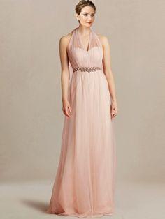 informal bridesmaid dresses_Peach Fizz