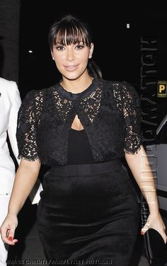 601d8a7ba9f Pregnant reality star Kim Kardashian dines out at Crustacean on March 19
