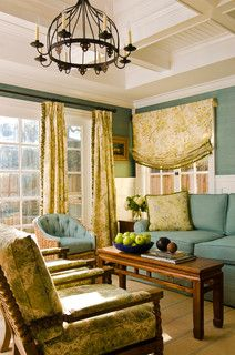 Grasscloth and window treatment