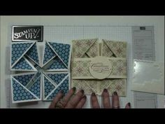 Napkin Fold Card - Dawn