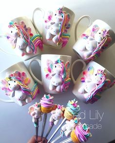 1 million+ Stunning Free Images to Use Anywhere Cute Polymer Clay, Cute Clay, Polymer Clay Dolls, Polymer Clay Miniatures, Polymer Clay Crafts, Polymer Clay Creations, Handmade Polymer Clay, Cold Porcelain Tutorial, Cute Mug