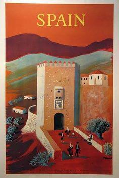 Poster Spanje