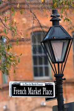 French Market Place in New Orleans.