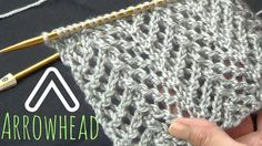 Arrowhead Lace Stitch