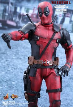Hot Toys : Deadpool - Deadpool 1/6th scale Collectible Figure