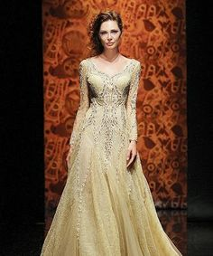 Winter wedding dress. Not the color