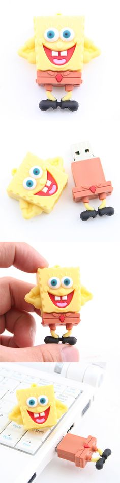 SpongeBob USB Flash Drive http://www.usbgeek.com/products/spongebob-usb-flash-drive