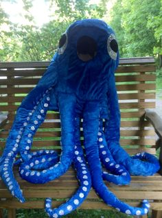 Octopus Osku Designed and made by Sinipellavainen.