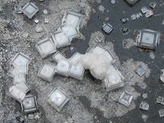 Looking at salt under a microscope is fascinating to me. Mother Nature designs wonders.