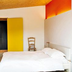 Une chambre zen et chaleureuse