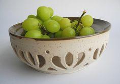 Ceramic bowl  hand carved decorative dish  Handmade by ClayismyArt, ₪220.00
