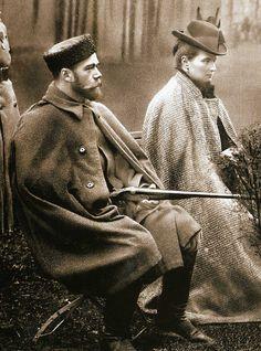 Emperor Nicholas II and Empress Alexandra Feodorovna, 1899.