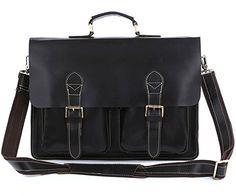 Genuine Leather Retro Men Messenger Bag in Black Generic http://www.amazon.com/dp/B00VJOHNS8/ref=cm_sw_r_pi_dp_G-c3vb1G62K8T