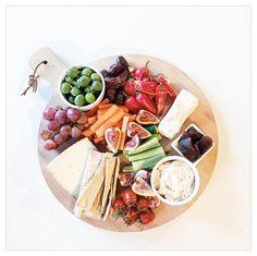 Cheese Platter |  via instagram.com/mintandfizz  #foodstyling #cheeseplatter #cheese #cheeseplate #olives #figs #foodstyle