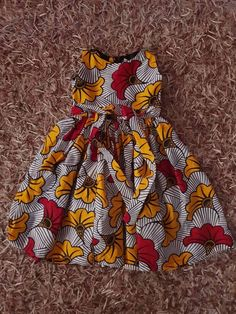 25 Inspirational Ideas For Ankara Baby Dress Pattern Baby African Clothes, African Dresses For Kids, Latest African Fashion Dresses, Kids Outfits Girls, Little Girl Dresses, Toddler Outfits, African Girl, Baby Girl Dress Patterns, Baby Dress