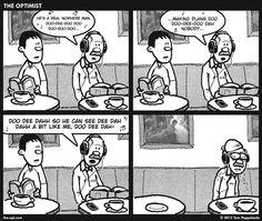 Nowhere Man, a #comic by Tom Pappalardo. [ #beatles #webcomic ]