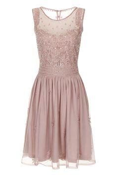 Serena embellished gem dress pink - Dresses - Clothing. Frock and Frill £135.