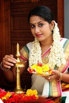 Malayalam Actress in Saree