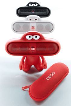 Beats By Dr. Dre  Beats Pill Dude with Speaker http://rstyle.me/n/s73n6bh9c7