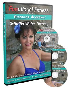 Functional Fitness: Arthritis Water Therapy with Suzanne Andrews Pool Workout, Workout Dvds, Workout Videos, Workout Routines, Arthritis Relief, Pain Relief, Pbs Tv