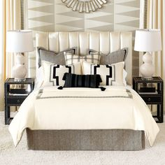 Abernathy Bedset ($1,575) ❤ liked on Polyvore featuring home, bed & bath, bedding, king size bedding, euro pillow shams, cal king bedding sets, cal king bedding and california king bedding sets