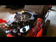 How to fix your lawn mower after hitting rock/stump (Briggs/Stratton EX Engine) - YouTube
