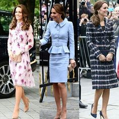Catherine's outfits this weekWhich one is your fave?❤ #weadmirekatemiddleton #lifeofaduchess #duchessofcambridge