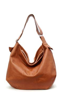 Misha Hobo   camel leather